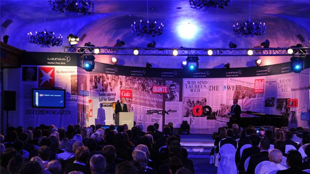 Laureus zeichnet soziales Engagement aus – der Laureus Medienpreis 2011