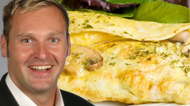 Power-Frühstück für Sportler – Pilz-Omelett á la Kruppa