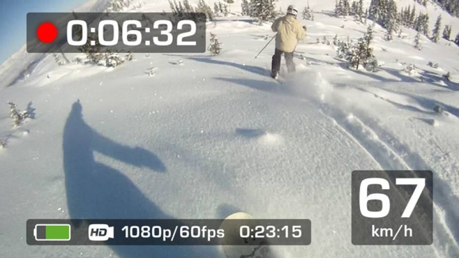 Tacho für die Piste – Die Skibrille mit eingebautem GPS