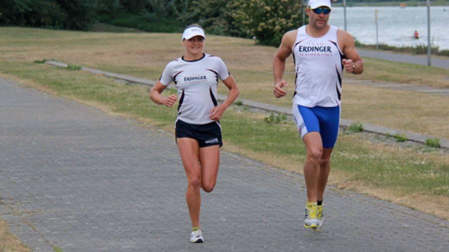 Eierlauf - Triathlon: Koppeltraining mit Celia Kuch