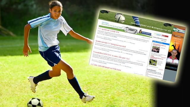 Mehr Sport im Netz - womensoccer.de