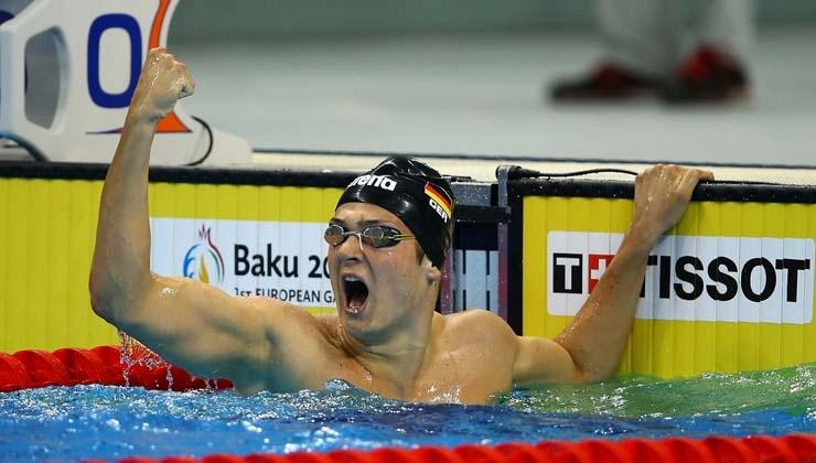 Europaspiele in Baku: Paul Hentschel holt Gold
