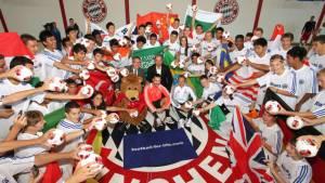 Internationales Fußball-Abenteuer – 4. Allianz Junior Football Camp in München