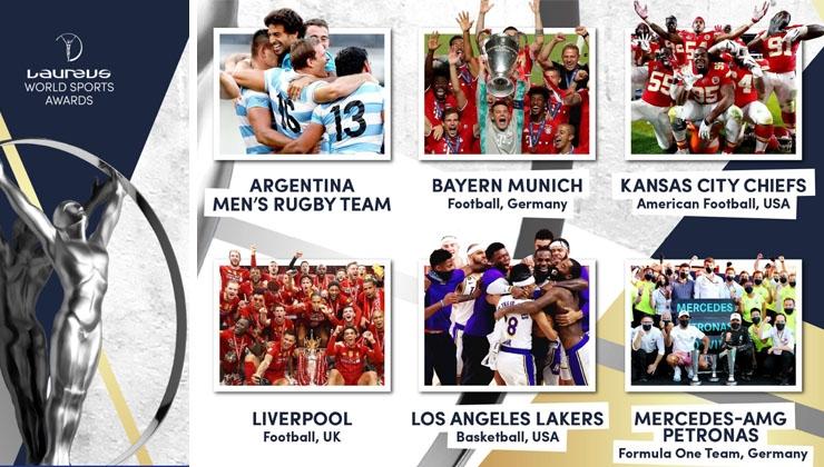 Laureus World Sport Award 2021 – Die Nominierten