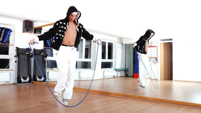 Rope Skipping - Seilchenspringen auf dem Schulhof war gestern