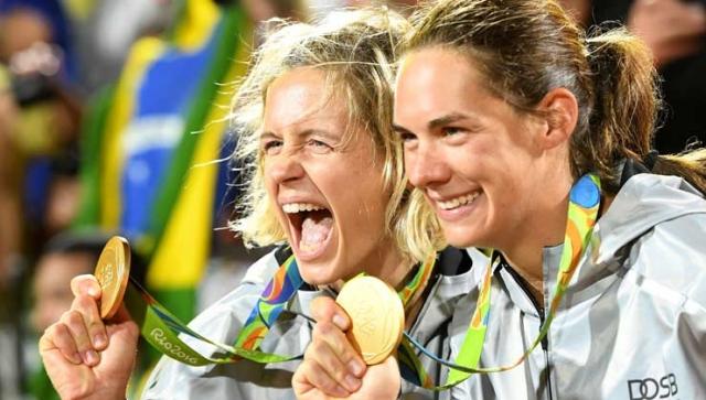 Gold für die Beachvolleyballerinnen