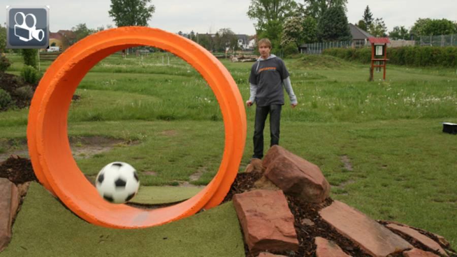Sportarten im Test: Fußballgolf