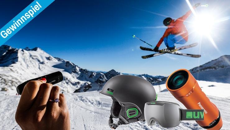 Gewinnspiel: Helm und Brille von uvex und Action Cam von Panasonic