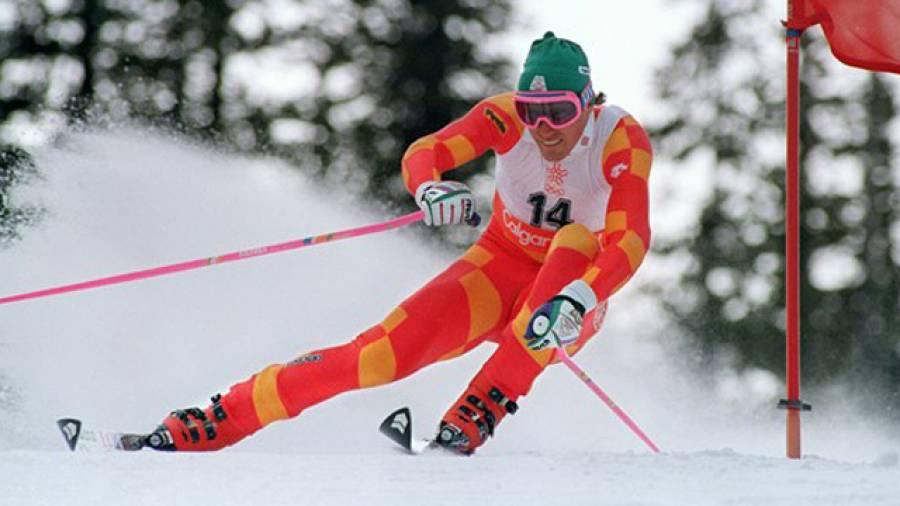 Von Toni Sailer bis Tina Maze – Verrückte Skianzüge der letzten 60 Jahre
