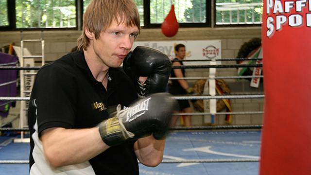 Box-Workout mit Rüdiger May