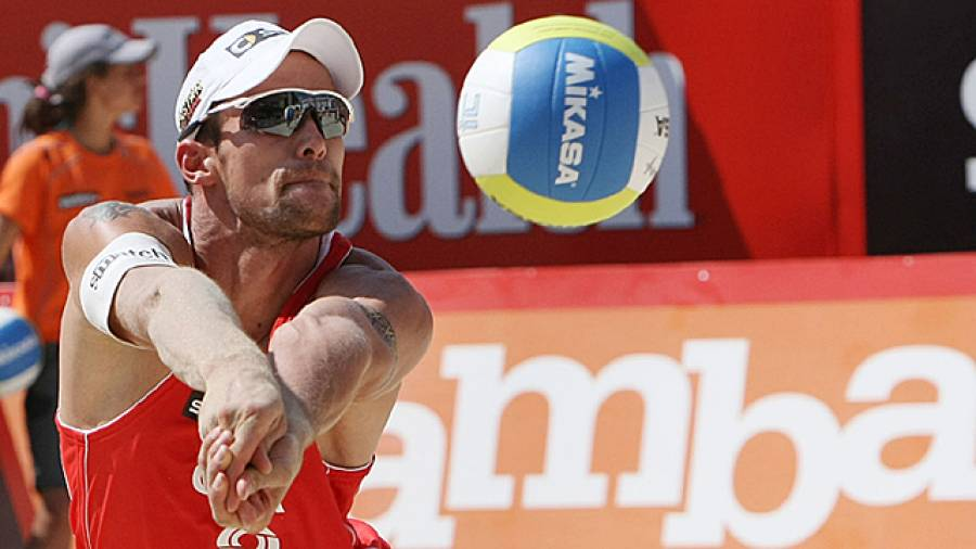 Beachvolleyball-Workout mit Eric Koreng